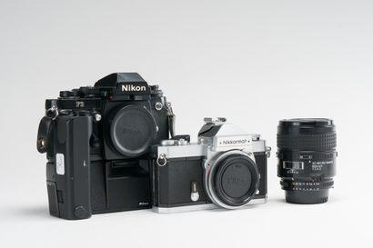 Appareil photographique, deux appareils Nikon....