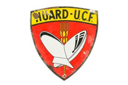 HUARD-U.C.F. (Charrue).  Sans mention d'émaillerie,...