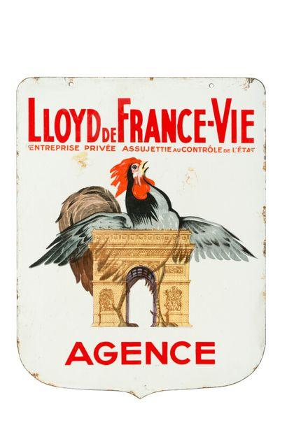 LLOYD de FRANCE-VIE, Agence.  Sans mention...