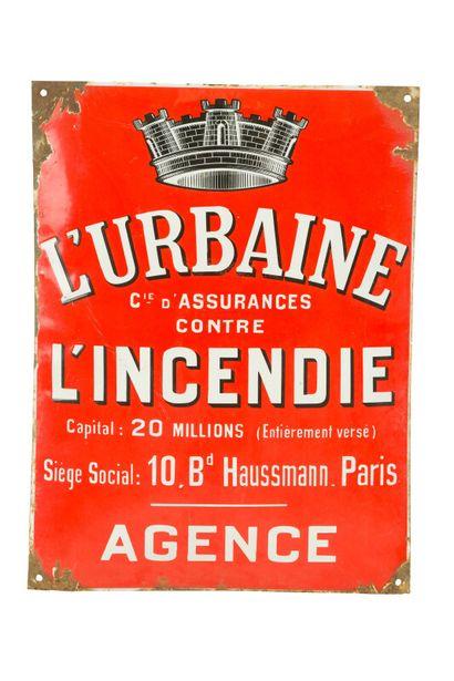L'URBAINE Cie d'assurance contre l'Incendie....