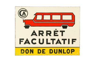 Don de DUNLOP ARRÊT FACULTATIF.  Sans mention...