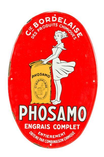 PHOSAMO Engrais complet.  Émaillerie Alsacienne...