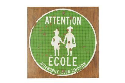 ATTENTION ECOLE, Automobile Club Limousin....
