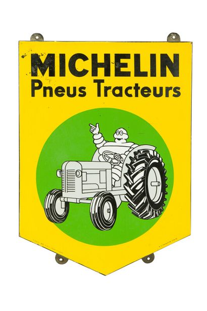 MICHELIN Pneus tracteurs.  Émaillerie Alsacienne...