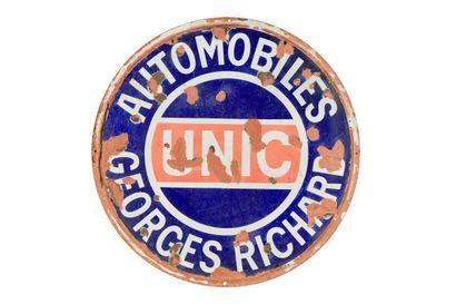 UNIC Automobiles Georges Richard.  Sans mention...
