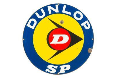 DUNLOP SP (Pneu).  Sans mention d'émaillerie,...