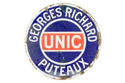 UNIC Georges Richard, Puteaux.  Émaillerie...