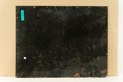 BUICK (Automobiles).  L'Émaillo-gravure, Paris, vers 1935.  Plaque émaillée rectangulaire...