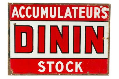 DININ Accumulateurs, Stock.  L'Émaillo-gravure...