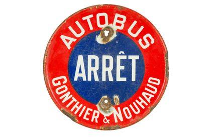 AUTOBUS ARRÊT Gonthier & Nouhaud.  Sans mention...