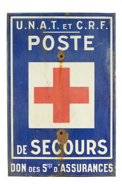 POSTE DE SECOURS Don des Stes. D'assurances....