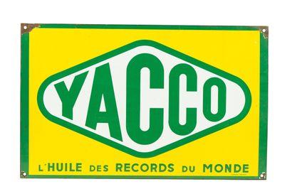 YACCO L'huile des records du monde.  Émail...