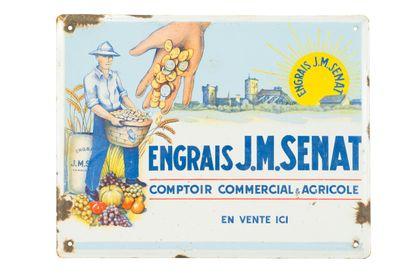 J.M. SENAT ENGRAIS, Comptoir commercial agricole....
