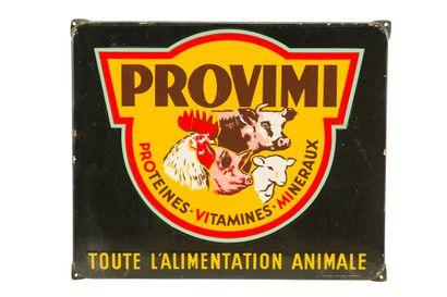 PROVIMI Toute l'alimentation animale.  Émaillerie...