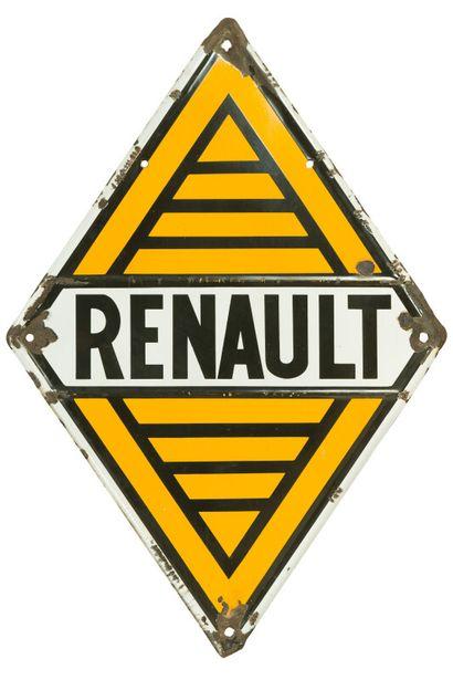 RENAULT.  Sans mention d'émaillerie, vers...
