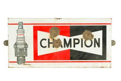 CHAMPION (Bougies automobiles).  Émail Art...