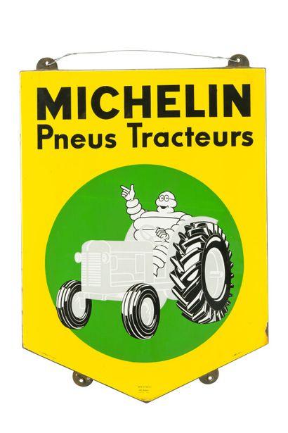 MICHELIN Pneus Tracteurs.  Émail Art France,...