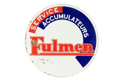 FULMEN Service accumulateurs.  Émaillerie...