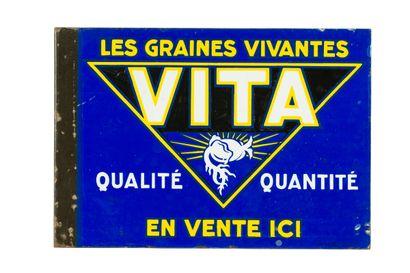 VITA GRAINES.  Émaillerie Alsacienne Strasbourg,...