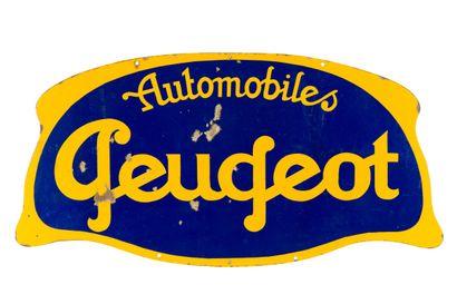 PEUGEOT Automobiles.  Sans mention d'émaillerie,...