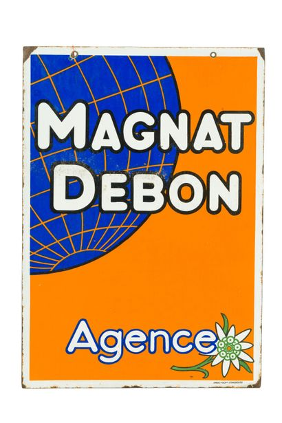 MAGNAT DEBON Agence (Motos).  Émaillerie...