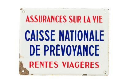 CAISSE NATIONALE DE PREVOYANCE.  Sans mention...