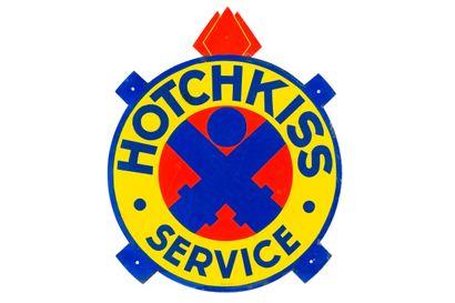 HOTCHKISS Service (Automobiles).  Émaillerie...