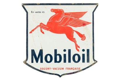 MOBILOIL Socony-Vacuum Française.  Émail...