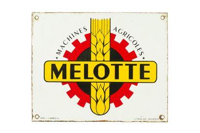 MELOTTE Machines agricoles.  Émaillerie Vitracier,...