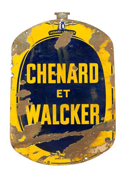CHENARD ET WALCKER (Automobiles).  Émaillerie...
