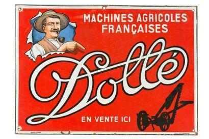 DOLLÉ Machines agricoles Française.  Émaillerie...