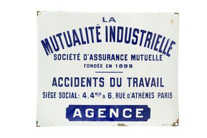 LA MUTUALITÉ INDUSTRIELLE Société d'assurance...