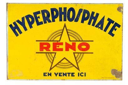 RÉNO HYPERPHOSPHATE  Émaillerie Alsacienne...