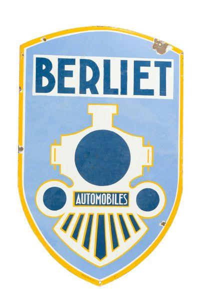 BERLIET Automobiles.  L'Émaillo-gravure,...