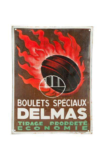 DELMAS Boulets spéciaux.  Émaillerie Alsacienne...