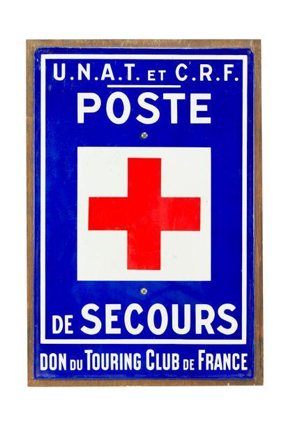 POSTE DE SECOURS, don du Touring club de...