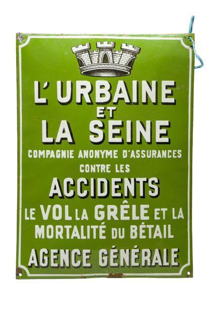 L'URBAINE et LA SEINE Cie d'assurance contre...