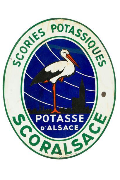 POTASSE D'ALSACE, Scories potassiques Scoralsace....