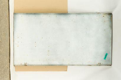 CONTINENTAL Pneu.  Pyro-Émail, vers 1960.  Grande plaque émaillée rectangulaire...