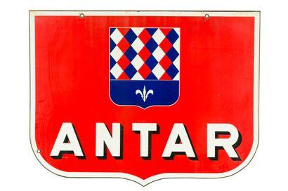 ANTAR (Huile automobile).  Émail Art France,...