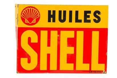 SHELL Huiles  Sans mention d'émaillerie....