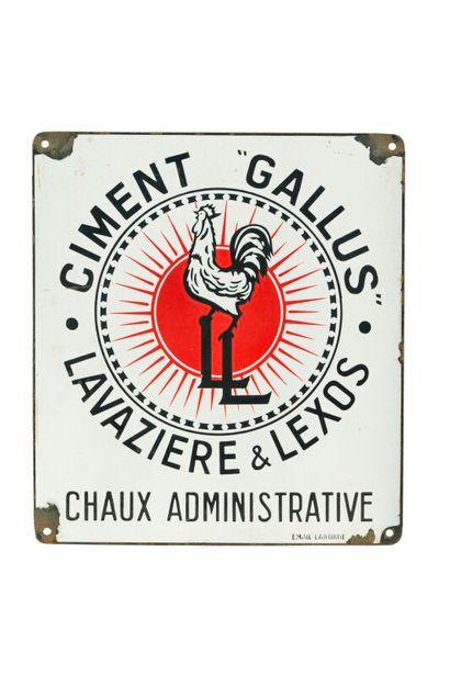 GALLUS CIMENT, Lavazière & Lexos, Chaux...