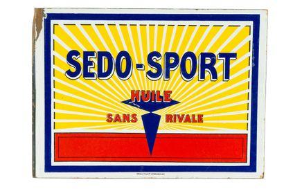 SEDO-SPORT Huile sans rivale (Automobile)....