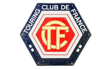 TOURING CLUB DE FRANCE.  Sans mention d'émaillerie,...