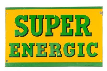SUPER ENERGIC.  Émail Art France, vers 1935....