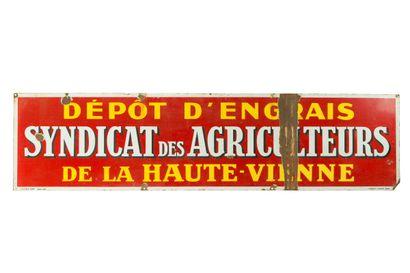 SYNDICAT des AGRICULTEURS de la Haute Vienne,...