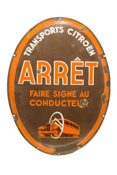 ARRÊT Transport Citroën, Faire signe au conducteur...