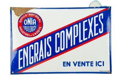 ONIA ENGRAIS COMPLEXES.  Émaillerie Alsacienne...