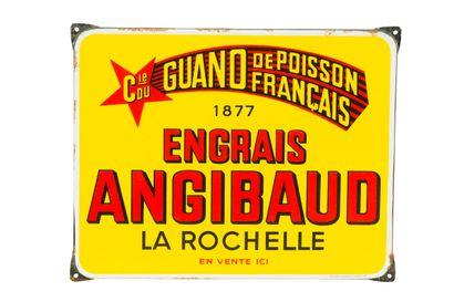 ANGIBAUD Engrais, La Rochelle.  Émaillerie...