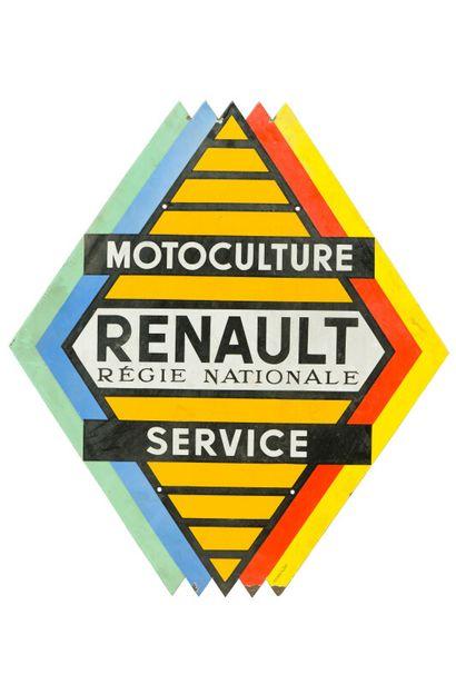 RENAULT Régie Nationale Motoculture service....